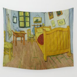 The Bedroom by Vincent van Gogh Wall Tapestry
