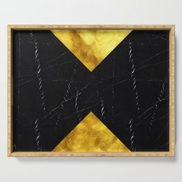 Black and Gold Marble Edition 1 Serving Tray