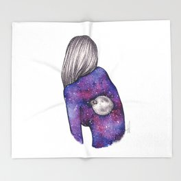Every person is a world III Throw Blanket