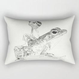 A Bigger World #3 Rectangular Pillow
