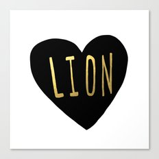 Lion Heart Canvas Print