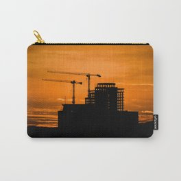 Sunrise Over Construction! Carry-All Pouch