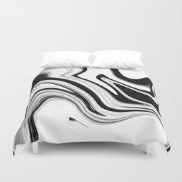 marble swirls Duvet Cover