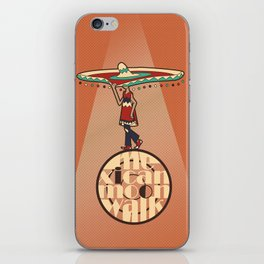 Mexican Moon Walk iPhone Skin