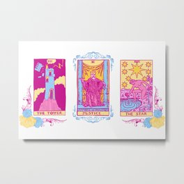 We Believe You - A Three Card Tarot Spread Metal Print