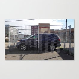 Solo Parking, 2013. Canvas Print