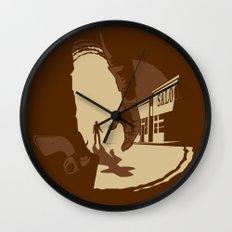 Showdown Wall Clock
