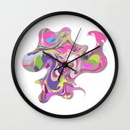 20 E=Octopuswoman Wall Clock