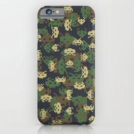 Invaded Camo WOODLAND iPhone Case