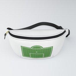 Football Penalty Area Fanny Pack