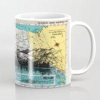 alaska Mugs featuring Alaska by Ursula Rodgers