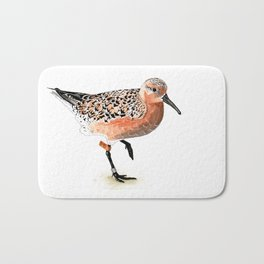 Red Knot B95 Bath Mat