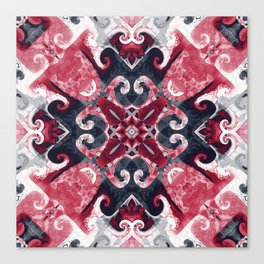 Hearts and Twisters Canvas Print