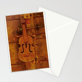 Particular designs in door handle and knocker Stationery Cards