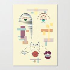 Face It Canvas Print