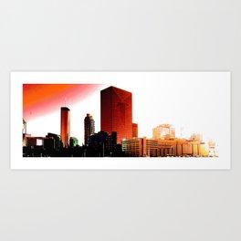 Rise ATL Art Print