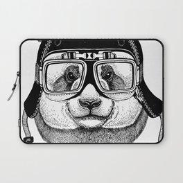 Panta Helmet and glasses Laptop Sleeve
