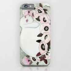 White Rabbit, Pink Poppies iPhone 6s Slim Case