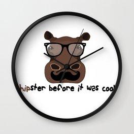 Hipster? Wall Clock