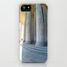Round Jefferson iPhone Case