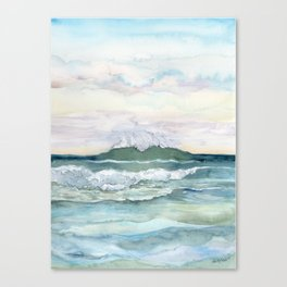 Distant Wave Canvas Print