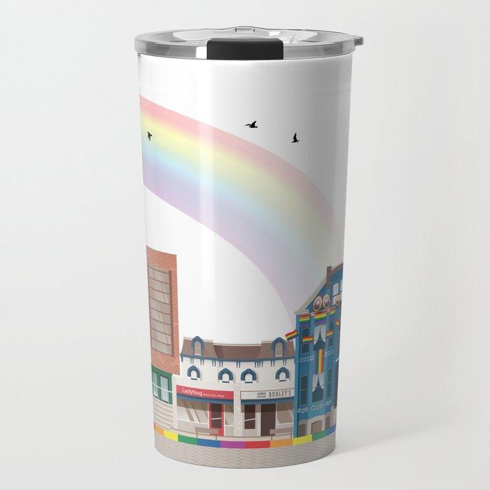 The Village - Toronto Neighbourhood Travel Mug