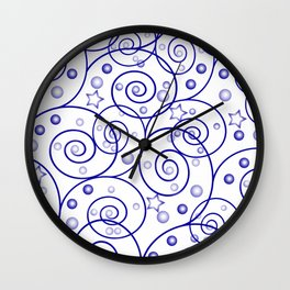 Abstract pattern. Wall Clock