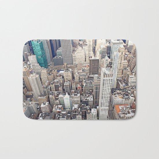 New York City color Bath Mat