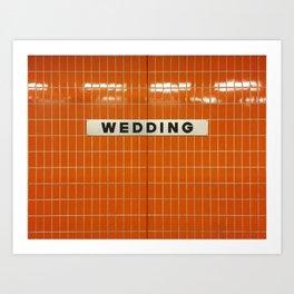 Berlin U-Bahn Memories - Wedding Art Print