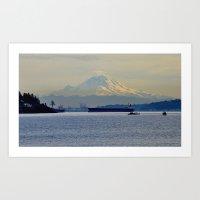 Mt. Rainier, Washington Art Print