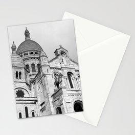 Sacre Coeur Montmartre Paris Stationery Cards