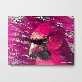Redbird Tribute Metal Print