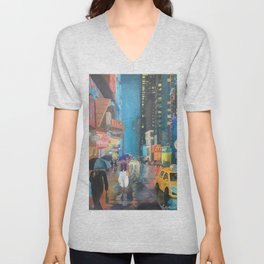 Agrabah, New York Unisex V-Neck
