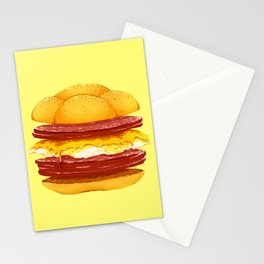 Pork Roll, Egg, & Cheese Stationery Cards