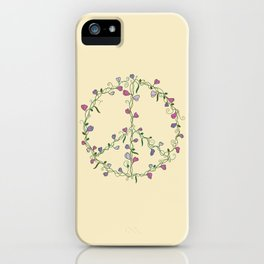 Sweet Peace iPhone Case