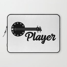 Banjo Player Laptop Sleeve