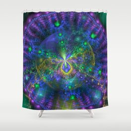 Mycelliod Colony Shower Curtain