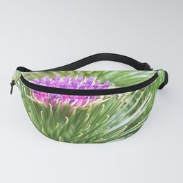 pink thistle Fanny Pack