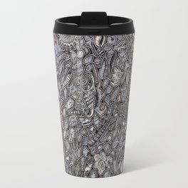 Sea shells Ocean decor Travel Mug