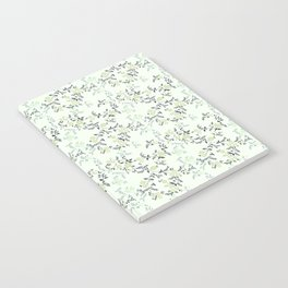 Mint Floral Notebook