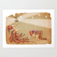 The Whores Of Horus Art Print