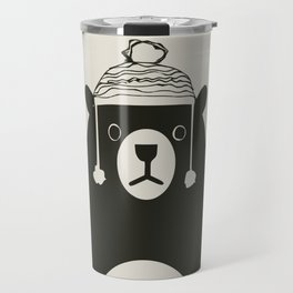 Bear illustration for kids Travel Mug