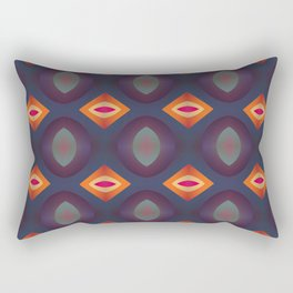 70's Geometric 2 Rectangular Pillow