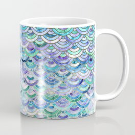 Marble Mosaic in Sapphire and Emerald Coffee Mug