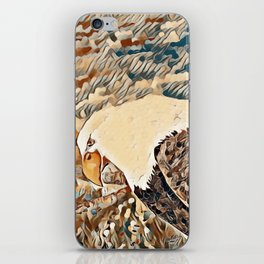 Eagle Watch iPhone Skin