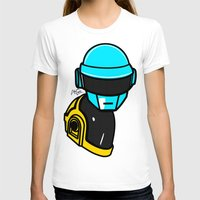 lichtenstein T-shirts featuring Daft Punk by Alli Vanes