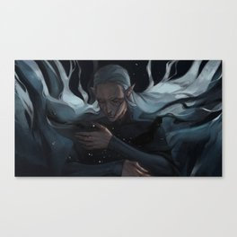 Daughter of the abyss Canvas Print
