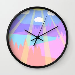 Spend time here Wall Clock