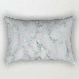 Ariana verde - smoky teal marble Rectangular Pillow