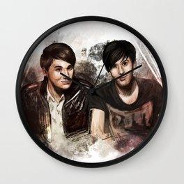 Bros 2.0 Wall Clock
